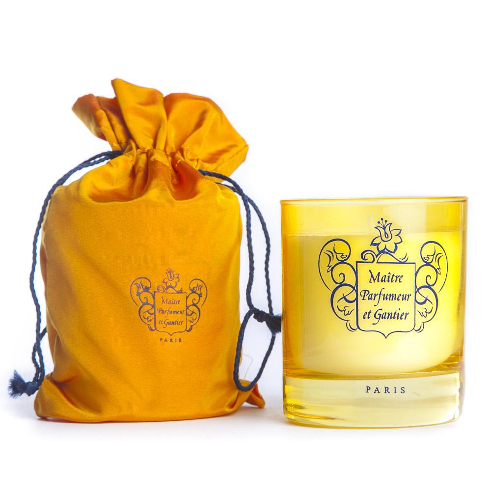 Ambre du Népal Bougie Bougie parfumée