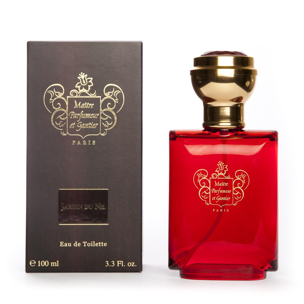 Eau de toilette 100 ml maitre parfumeur et gantier jardin for Jardin du nil red wine