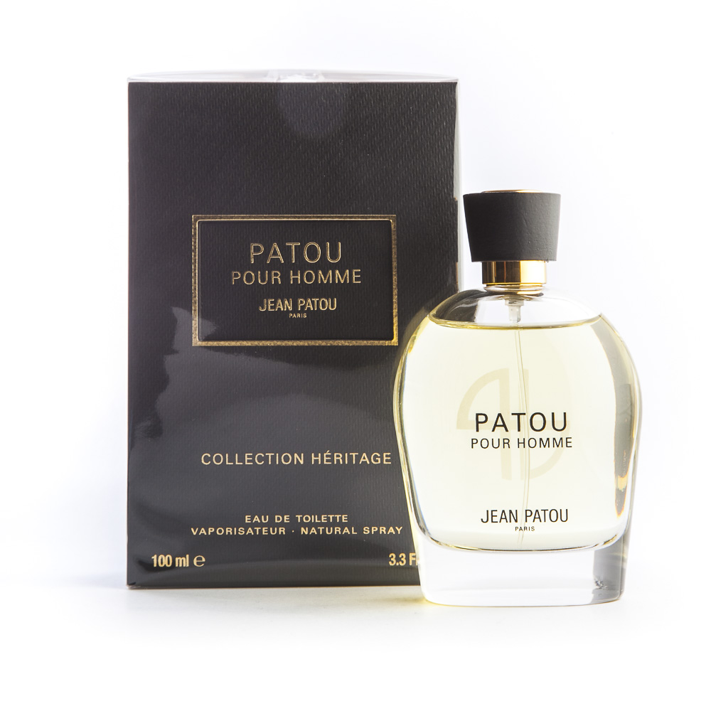 eau de toilette 100 ml jean patou patou pour homme. Black Bedroom Furniture Sets. Home Design Ideas